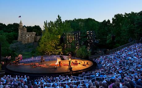 Shakespeare in the Park. Photo: Joseph Moran