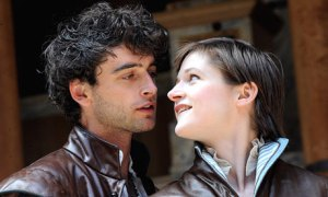 The Globe's 2009 production of As You Like It. Photo by Tristram Kenton
