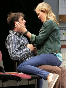 "An Off-Broadway production of ""Reasons to be Pretty"""