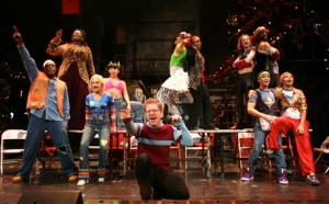 The Broadway Cast of RENT (Courtesy of the San Francisco Sentinel)