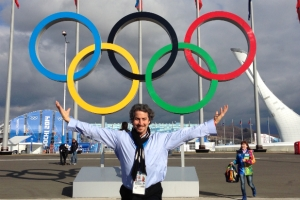 Daniel Ezralow in Sochi