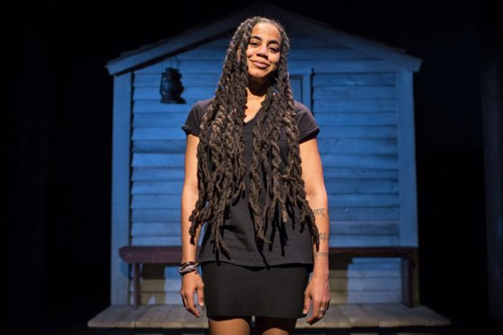 Suzan-Lori Parks, Photo by Sara Krulwich/The New York Times