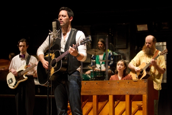Once the musical, in which the cast played all their own instruments in addition to singing and acting straight scenes.
